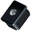 Rectangular Threaded Inserts & Glides - Metal -- RCM0600A