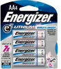 Battery, Lithium, AA Size, 1.5V, 3000 mAh, 50.5mm H x 14.5 mm Dia., 14.5 g -- 70145453