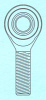 A Series Rod Ends -- AM-10-GP - Image