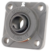 SF Series Standard-Duty Setscrew Locking 4-Bolt Flange Unit -- SF-35