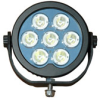 LED Light Emitter - 7, 10-Watt LEDs - 9-48 Volts DC - 6020 Lumen - IP68 - PWM Circuitry