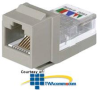 Panduit® NetKey Category 3, 6-Position, 6-Wire,.. -- NK366UM