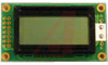LCD,CHARACTER MODULE,8X2,TRANSFLECTIVE,LED BACKLIGHT,YELLOW MODE STN,BOTTOM VIEW -- 70039299