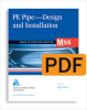 M55 PE Pipe - Design and Installation, First Edition (PDF) -- 30055-PDF