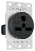 Straight Blade Power Receptacle -- 3801 - Image