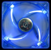 Yate Loon Quad Blue LED Silent 120mm Fan UV Blue -- 17142 -- View Larger Image