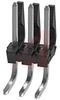 Nylon Breakaway Header.; 3; 0.156 in.; Tin -- 70191044