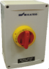 3 Pole Aluminum Enclosed Motor Disconnect Switch -- KEA360UL Y/R