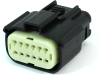 Molex 33472-1201 MX150 12-Pin Connector, Female, 22-14 AWG, Dual Row -- 38413 -- View Larger Image