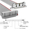 Rectangular Cable Assemblies -- H3DWH-2636G-ND -Image