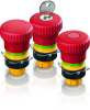 Emergency Stop Pushbuttons, Dupe-proof to EN ISO 13850 -- RAFIX 22 QR