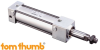 Series NPG Non-Rotating Pneumatic Tie Rod Cylinder - Image