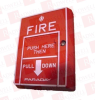 SIEMENS 8700-D ( DISCONTINUED BY MANUFACTURER, FIRE ALARM PULL STATION, ISA CERTIFIED, ADDRESSABLE, MANUAL PULL, DUAL ACTION ) -Image