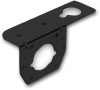 Pollak 11-627 Trailer Connector Bracket, Black, Use with 4 to 6-Way Sockets -- 37606 -Image
