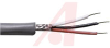 Cable; 3 cond; 24AWG; Strand (7X32); Foil+braid shielded; Chrome jkt; 100 ft. -- 70005263 -- View Larger Image