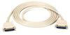 Standard RS-232 Low-Noise Cable, 7 Conductors (3 1/2 Pairs), Male/Male, 10-ft. (3.0-m) -- ECM07T-0010-MM