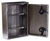 Stainless Steel Narcotics Cabinet Medium (15 x 11 x 4) .. -- 2762