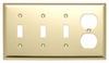 Standard Wall Plate -- SB38-PB - Image