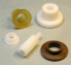 Shoulder Washers, Insulators, Stanoffs & Bushings -- SCREW INSULATORS and BUSHINGS -- View Larger Image