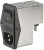 IEC Appliance Inlet C14 with Filter -- FKI Series
