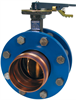 Butterfly Valve - Ductile Iron, Press x Press Female Ends, 250 PSI -- PFD3022