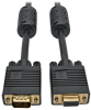 VGA Coax High-Resolution Monitor Extension Cable with RGB Coax (HD15 M/F), 2048 x 1536 (1080p), 3 ft. -- P500-003
