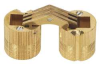 10 mm Barrel Hinge, Solid Brass -- BH104 - Image
