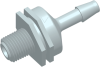 Thread to Barb Check Valve -- AP191227CV025SL -- View Larger Image