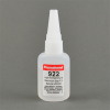 Permabond 922 High Temp Resist Cyanoacrylate Adhesive Clear 1 oz Bottle -- 922 1 OZ BOTTLE - Image