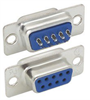DB9 Female Solder Connectors, Tray 50 -- SD9S-TRAY - Image