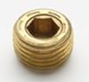 Brass Pressure Plugs (Inch) -- BP Series