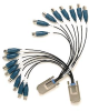 2 Pack InfiniBand to BNC Cables, AI0-7 and AI8-15, 0.2m, for 449x -- 780040-01 - Image