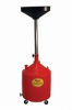JohnDow JDI-18DCP 18-Gal Poly Portable Oil Drain -- JOHJDI18DCP