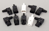 REWIREABLE CONNECTORS IEC 320 - STRAIGHT, ANGLED, MALE, FEMALE