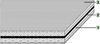 S Tangential/flat Polyamide Power Transmission Belt -- S-251H - Image