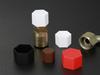 Hexagonal Caps - HEX SERIES -- HEX-1/4