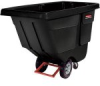 Rubbermaid 131400BK Utility-Duty Rotational Tilt Truck(Each) -- 131400BKRM