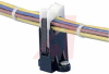 Clip, harness; Screw mnt; 0.5ö I.D.; 0.44öW x 0.84öL x 1.89öH; Qty 10 -- 70044525 -- View Larger Image