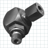Rotary Coupling -- Single Passage Elbow