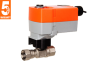 High Temperature Characterized Control Valve With Spring Return Actuators -- HTCCV Series