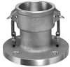 Aluminum Coupler x 150# ASA Flange Drilling - Image