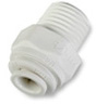Polypropylene Tube Fitting - White -- MCPP-01 - Image