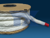 Glass fiber twisted rope - Image