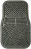 Floor Mat 1 Pr,Frnt,SBR Rubber,Charcoal -- 3VTA1