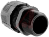 Connector, Strain Relief; Nylon; 1.406 in.; 2.188 in.; -34 degC; UL Listed -- 70093060