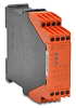 SAFETY RELAY, 230 VAC, 3 N.O.+1 N.C. CONTACT, 2-CHANNEL, E-STOP/GATE -- LG5925-48-61-230