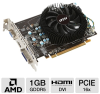 MSI R6770-MD1GD5 Radeon HD 6770 Video Card - 1GB, GDDR5, PCI -- R6770-MD1GD5