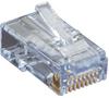 CAT6 EZ RJ45 Modular Plug Connector-Unshielded TAA 25-Pack -- C6EZUP-25PAK -- View Larger Image