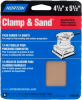 Norton MultiSand AO Multi-Grit Cut Sheet -- 07660702057 -Image
