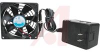 Fan;AC;120 V;19.0 W;50 CFM;3100 RPM;Auto Restart;Therm Control;91.5x24.7mm -- 70103429